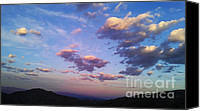 Peace Canvas Prints - Sunset over the Salton Sea Canvas Print by Chris Tarpening
