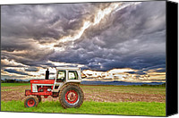 Angry Sky Canvas Prints - Superman Skies Canvas Print by James Bo Insogna
