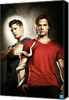 Print Special Promotions - Supernatural Canvas Print by Movie Prints