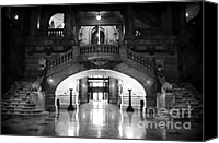 John Rizzuto Canvas Prints - Surrogates Court 1990s Canvas Print by John Rizzuto