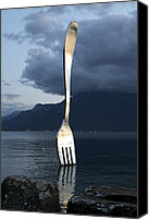 Vevey Canvas Prints - The Big Fork Canvas Print by Colleen Williams