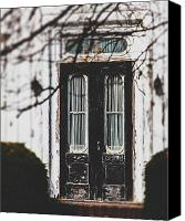 Lisa Russo Canvas Prints - The Black Door Canvas Print by Lisa Russo