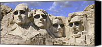 National Monument Canvas Prints - The Boys Of Summer 2 Canvas Print by Mike McGlothlen
