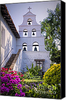 Mission Bells Canvas Prints - The Campanario Canvas Print by Joan Carroll