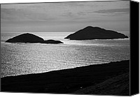 Black And White Photo Special Promotions - The Islands Canvas Print by Aidan Moran