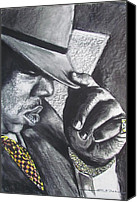 Eric Dee Canvas Prints - The Notorious B.I.G.  Canvas Print by Eric Dee