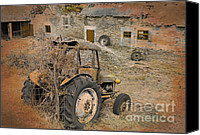 David Birchall Canvas Prints - Time Moved On Canvas Print by David Birchall