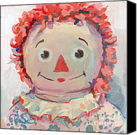 Kimberly Santini Canvas Prints - Tiny Anne II Canvas Print by Kimberly Santini