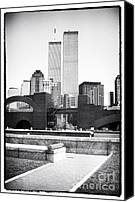 John Rizzuto Canvas Prints - To the Towers 1990s Canvas Print by John Rizzuto