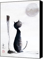 Animals Painting Special Promotions - Tomorrow Will Be A Better Day Canvas Print by Oiyee  At Oystudio