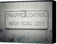 Lisa Russo Canvas Prints - Traffic Control Canvas Print by Lisa Russo