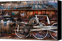 Mike Savad Canvas Prints - Train - With age comes beauty  Canvas Print by Mike Savad