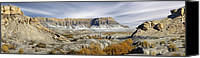 Surreal Landscape Canvas Prints - Utah Outback 43 Canvas Print by Mike McGlothlen