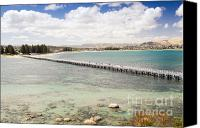 Tim Hester Canvas Prints - Victor Harbour South Australia Canvas Print by Tim Hester