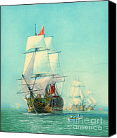 Padre Art Canvas Prints - Victory Maiden Voyage1922 Canvas Print by Padre Art