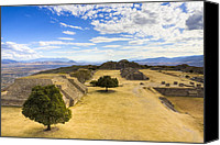 Mark Tisdale Canvas Prints - View of the Zapotec in Oaxaca Canvas Print by Mark E Tisdale