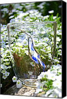 Featured Glass Art Canvas Prints - Vinsanchi Glass Art-3 Canvas Print by Vin Kitayama