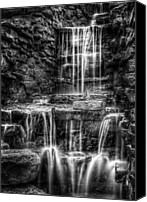 Brook Canvas Prints - Waterfall Canvas Print by Scott Norris