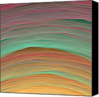 Rochvanh  Canvas Prints - Wave-03 Canvas Print by RochVanh
