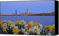Juergen Roth Canvas Prints - We are Boston Canvas Print by Juergen Roth