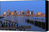 Juergen Roth Canvas Prints - Welcome to Boston Canvas Print by Juergen Roth