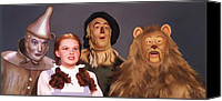 Toto Canvas Prints - Wizard of Oz Canvas Print by Pennie  McCracken