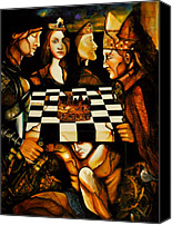 Armor Canvas Prints - World Chess   Canvas Print by Dalgis Edelson