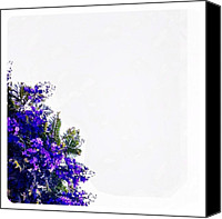 Nature Canvas Prints -  Corner Bouquet Canvas Print by Julie Gebhardt