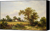 Edwin Canvas Prints -  Essex Landscape  Canvas Print by James Edwin Meadows