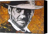 Ark Canvas Prints -  Harrison Ford - Indiana Jones  Canvas Print by Eric Dee