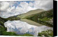 White Mountains Canvas Prints -  Lakes of the Clouds - Mount Washington NH Canvas Print by Erin Paul Donovan