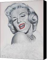 Norma Jean Canvas Prints -  Marilyn Monroe Canvas Print by Eric Dee