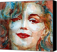 Norma Jean Canvas Prints -  Marilyn   Canvas Print by Paul Lovering