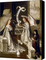 Annunciation Canvas Prints - SPAIN: ANNUNCIATION, c1500 Canvas Print by Granger