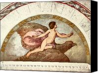 Library Painting Canvas Prints - GANYMEDE, c1901 Canvas Print by Granger