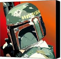 Star Wars Canvas Prints - 067. Hes No Good To Me Dead Canvas Print by Tam Hazlewood