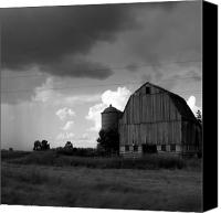 Barn Canvas Prints - 08016 Canvas Print by Jeffrey Freund