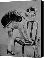1920s girl black