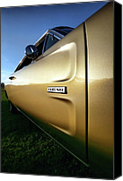 Dean Canvas Prints - 1968 Dodge Charger HEMI Canvas Print by Gordon Dean II