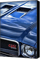 Blue Buick Canvas Prints - 1970 Buick GS 455  Canvas Print by Gordon Dean II