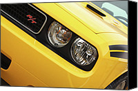 2012 Digital Art Canvas Prints - 2011 Dodge Challenger RT Canvas Print by Gordon Dean II