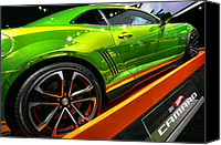 Dean Canvas Prints - 2012 Chevy Camaro Hot Wheels Concept Canvas Print by Gordon Dean II