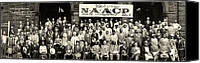 Harlem Canvas Prints - 20th Annual Session Of The N.a.a.c.p Canvas Print by Everett