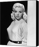 1955 Movies Canvas Prints - A Kid For Two Farthings, Diana Dors Canvas Print by Everett