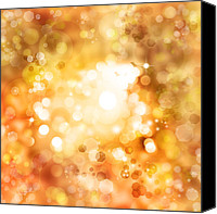 Brown Color Canvas Prints - Abstract background Canvas Print by Les Cunliffe