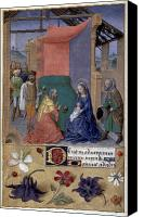 Magi Canvas Prints - Adoration Of Magi Canvas Print by Granger