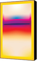 Airbrush Art Digital Art Canvas Prints - After Rothko 5 Canvas Print by Gary Grayson