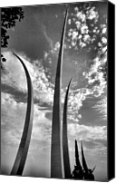 Battles Canvas Prints - Air Force Memorial II Canvas Print by Steven Ainsworth