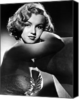 1950 Movies Photo Canvas Prints - All About Eve, Marilyn Monroe, 1950 Canvas Print by Everett