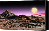 Lynette Cook Canvas Prints - Alpha Centauri System Canvas Print by Lynette Cook